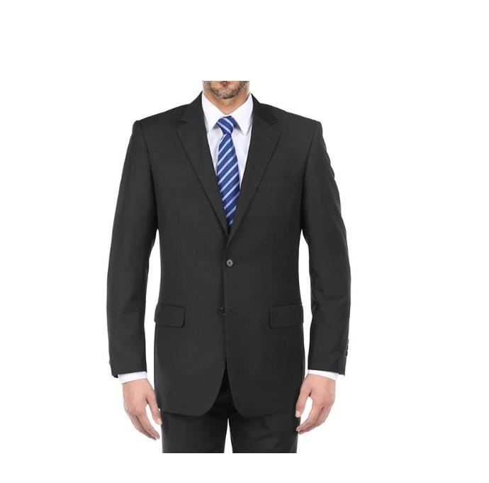 Bevagna Collection – 100% Virgin Wool Regular Fit 2 Piece Suit 2 Button-1